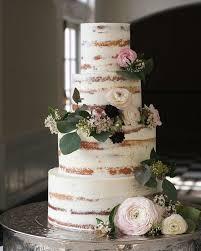 wedding cake styles half wedding cake nakedweddingcake weddings