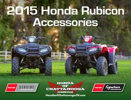 2015 honda atv four wheeler model lineup honda of chattanooga