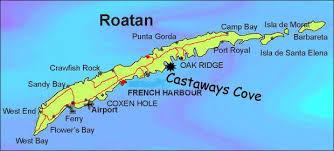 map of roatan honduras find out more about roatan honduras