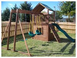 garden non wood swing sets swings for swingset lowes playsets