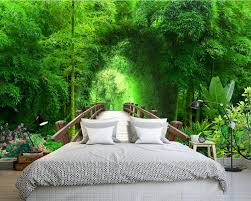 compare prices on bamboo forest wallpaper online shopping buy low custom 3d wallpaper 3d landscape wallpaper bamboo forest arches background wall photo 3d wallpaper china