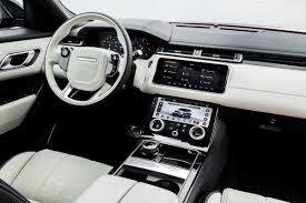 white land rover interior velar u2013 the fourth member of the range rover family has arrived