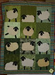 free sheep quilt pattern in 2010 machine pieced and appliqued