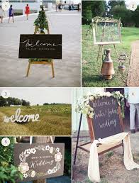 diy wedding signs wedding welcome sign ideas 1 julep