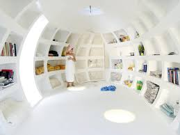 Micro Home by Blob An Unusual Micro Home Encased In Storage