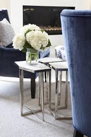 Accent Chair And Table Set Blue Velvet Accent Chairs With Regina Andrew Puzzle Table Set