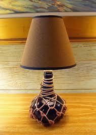 small rum jug lamp skipjack nautical wares