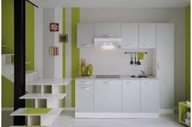 set de cuisine set de cuisine en panneau de particules blanc dorian design sur