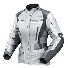 ladies motorcycle jacket dririder apex 4 waterproof women u0027s textile jacket grey white