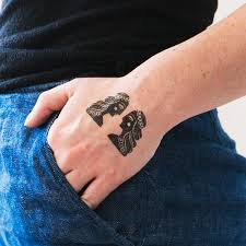 tattly designy temporary tattoos u2014 gemini by danielle kroll from