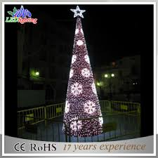 china led christmas commercial giant outdoor lighting up tree