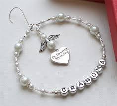 personalised in loving memory memorial ornament decoration