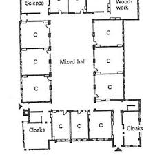 window in plan a typical layout plan of a victorian school a and an image of a