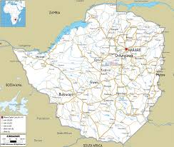 Map Of Zambia Detailed Clear Large Road Map Of Zimbabwe Ezilon Maps