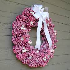 Decorating Pine Cones With Glitter Another Bright Idea Pine Cone Wreaths A Tutorial