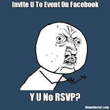 How To Create Facebook Memes - invite u to event on facebook create your own meme