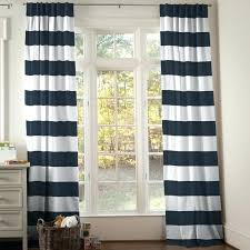 Navy And White Striped Curtains Navy Blue Striped Curtains Teawing Co