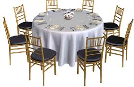 Table Runners For Round Tables Naperville Table Rental