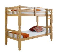 Betternowmcouk Chunky Solid THICK STRONG Pine Wood BUNK BED - Pine bunk bed