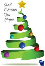 spiral christmas tree spiral christmas tree craft project wisconsin homemaker