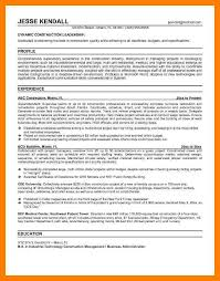 Superintendent Construction Resume 7 Superintendent Resume Mla Cover Page