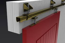 Tracks For Sliding Cabinet Doors Painted Sliding Cabinet Door Track Make A Wood Sliding Cabinet