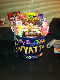 birthday baskets for him great 9 best gift images on boyfriend ideas boyfriend