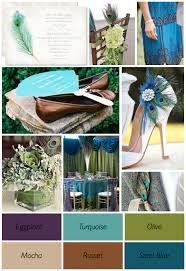 Peacock Themed Wedding Peacock Wedding Theme Colors Weddings By Lilly