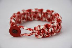 bracelet red images Red and white camouflage jpg