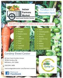 indoor farmers market at east coast garden center delmarvalife
