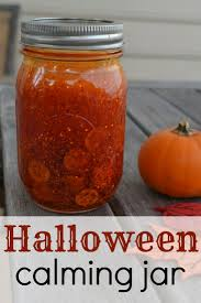 easy craft a halloween calming jar babycenter blog