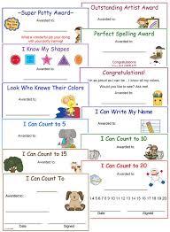 36 best preschool certificates images on award