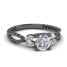 black gold engagement ring black gold engagement rings fascinating diamonds