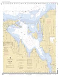 Nautical Maps Sodus Bay Lake Ontario New York Nautical Chart νοαα Charts Maps