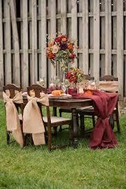 Backyard Wedding Ideas For Fall 75 Rustic Fall Wedding Ideas You U0027ll Love Happywedd Com