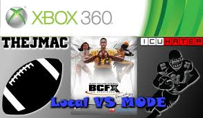 xbox 360 bcfx black college football the experience 2 player