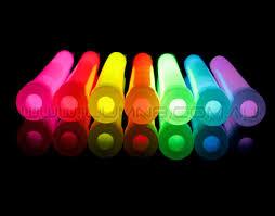 glow sticks stick 6inch 100pcs ctn bulk mixed