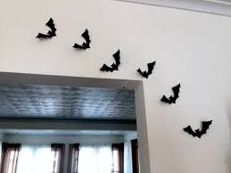 halloween wall decorations paper bats halloween wall