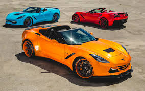 corvette stingray gold forgiato widebody c7 corvette stingrays now available in multiple