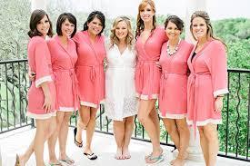 bridesmaids robes cheap wedding robes wedding robes for bridal yumi