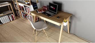 bureau en bois design table de bureau design sanio mob in