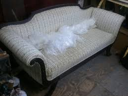Duncan Phyfe Sofa by John Mark Power Antiques Conservator Duncan Phyfe Style Mahogany