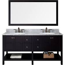 modern dark wood bathroom vanities allmodern