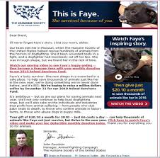 Examples Of Fundraising Letters Asking For Donations by Betrayal U0026 Deceit At The Humane Society Of The United States