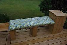 Home Decorators Outdoor Cushions by Home Decorators Collection Sunbrella Brannon Whisper Outdoor Bench