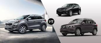 nissan rogue vs kia sportage 2017 kia sportage vs 2016 volkswagen tiguan vs 2016 mazda cx 5