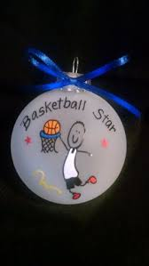 basketball ornament personalized basketball player personalized