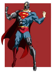 cyborg superman animated chubeto deviantart