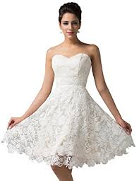 white lace prom dress grace karin women s white lace bridal prom
