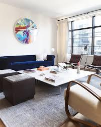 contemporary livingroom in york ny by leandro